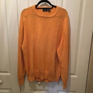 Vintage Jockey Yellow Cable Knit Sweater Size XL